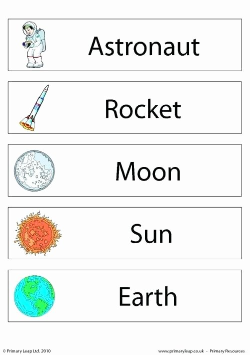 Solar System Worksheets for Preschoolers Unique the solar System for Kids Worksheets – Keepyourheadup