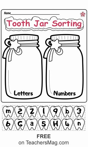 Sorting Worksheets for Preschoolers Awesome Dental Health Worksheets for Preschool and Kindergarten