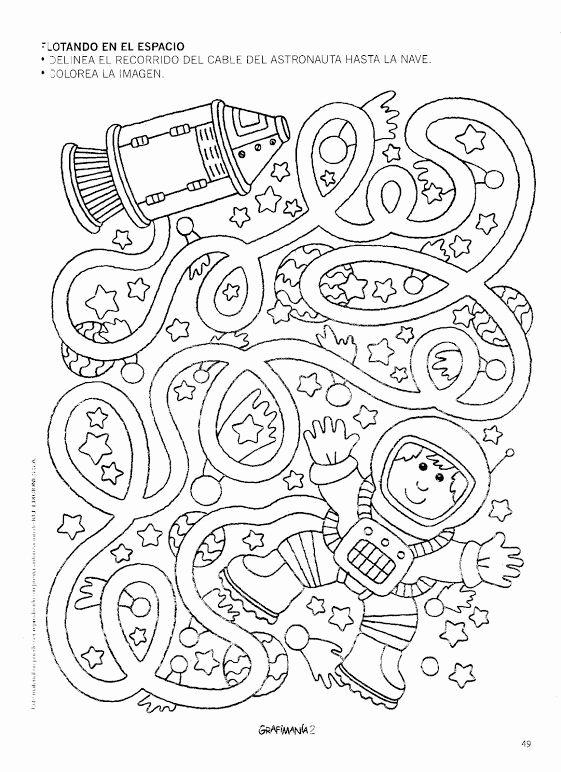 Space Worksheets for Preschoolers Lovely Space Worksheet for Kids
