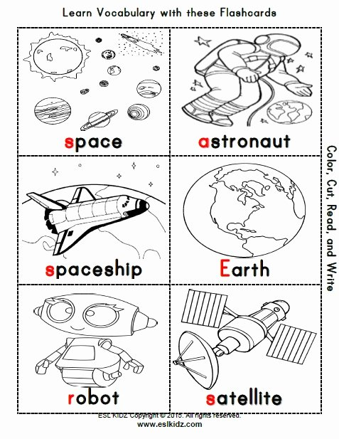 Space Worksheets for Preschoolers New Space Activities Games and Worksheets for Kids