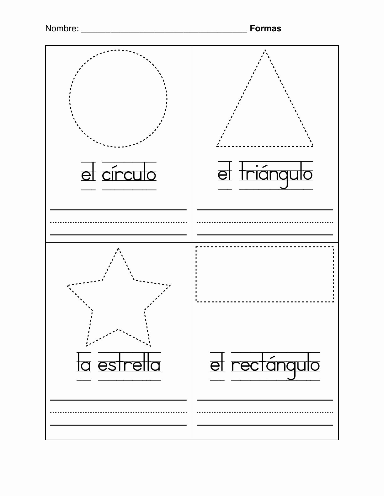 Spanish Color Worksheets for Preschoolers Beautiful Spanish Worksheets for Kindergarten