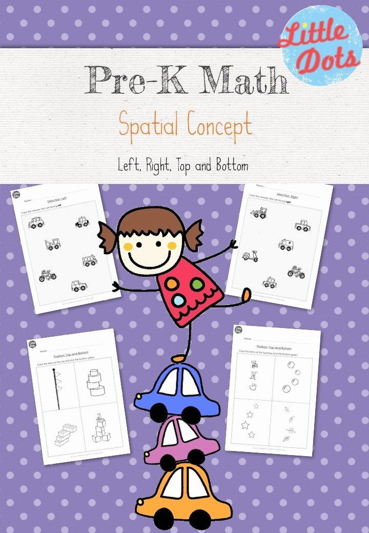 Spatial Concepts Worksheets for Preschoolers Unique Pre K Spatial Concepts Worksheets and Activities