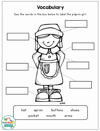 Speech Worksheets for Preschoolers Fresh Thanksgiving Speech and Language Activities & Worksheets