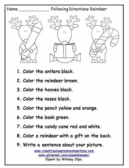 Speech Worksheets for Preschoolers Fresh This Free Printable is A Great December Activity for