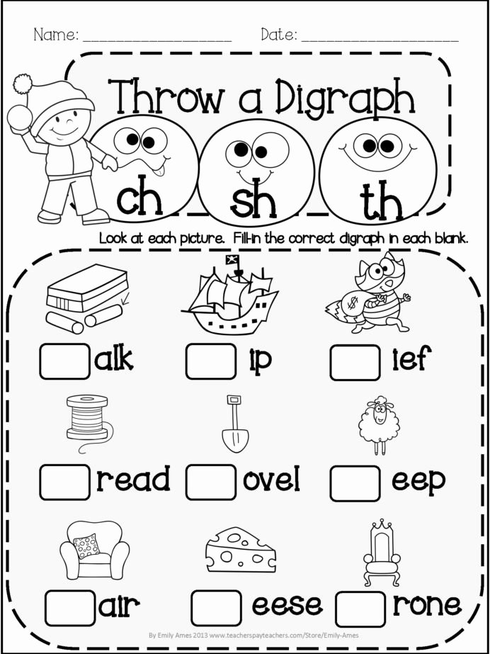 Speech Worksheets for Preschoolers Unique Th Worksheet Printable Worksheets and Activities for