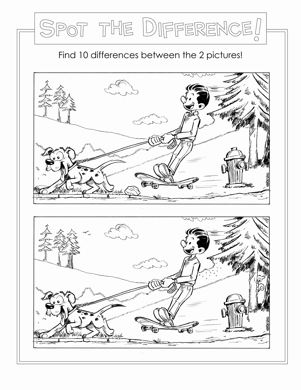 Spot the Difference Worksheets for Preschoolers top Spot the Difference Worksheets