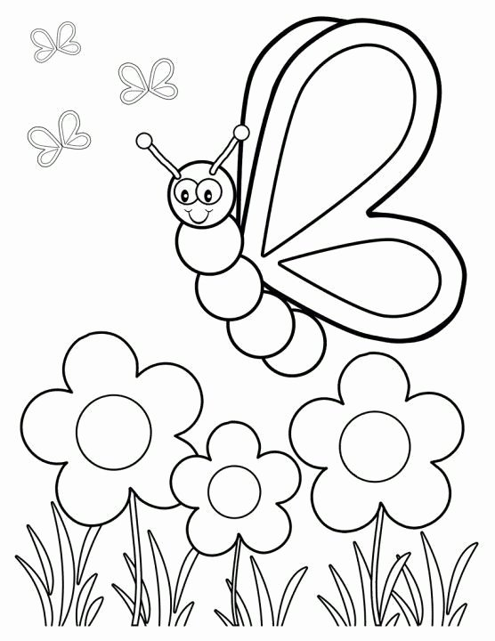 Spring Coloring Worksheets for Preschoolers Best Of top 35 Free Printable Spring Coloring Pages Line