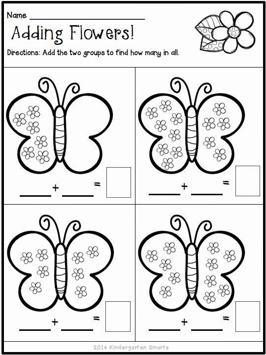 Spring Printable Worksheets for Preschoolers Lovely Spring Math and Literacy Centers Plus A Freebie