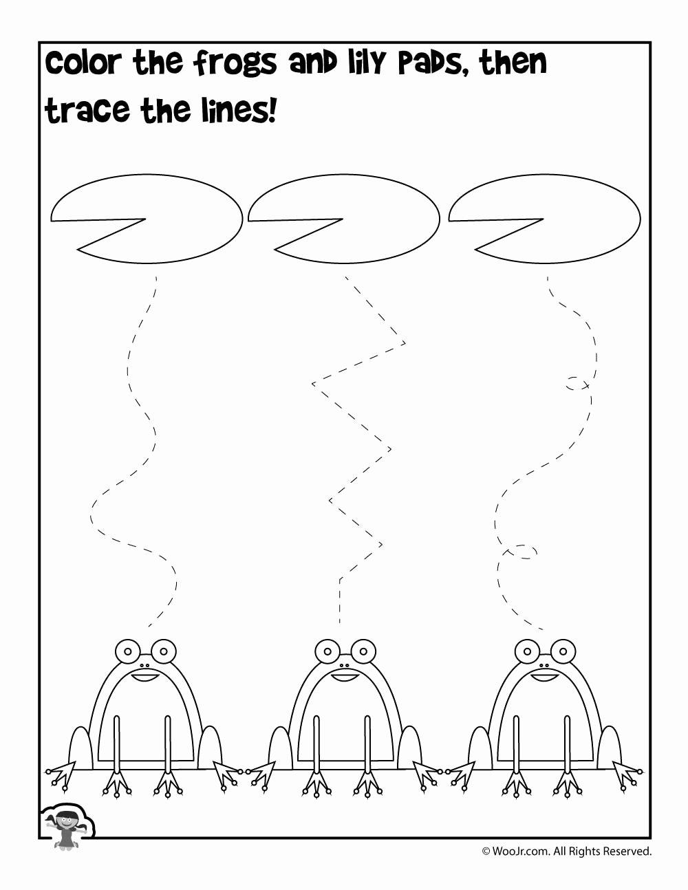 Spring Tracing Worksheets for Preschoolers Unique Spring Tracing Preschool Worksheet