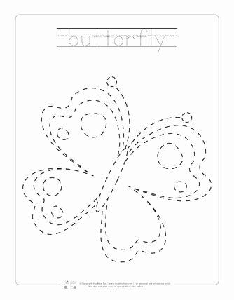 Spring Tracing Worksheets for Preschoolers Unique Spring Tracing Worksheets Itsybitsyfun