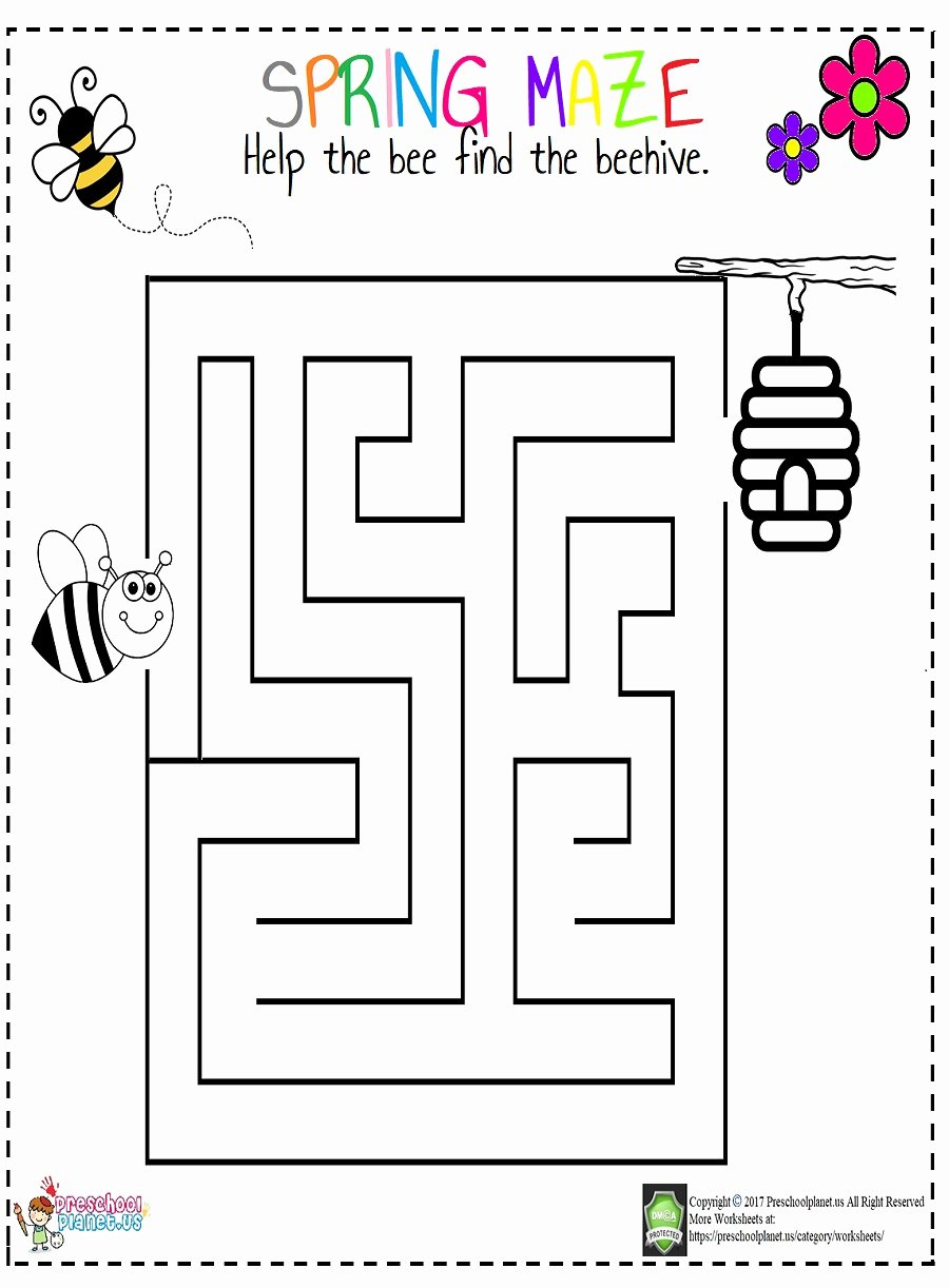 Springtime Worksheets for Preschoolers Lovely Animals Matching Worksheet – Preschoolplanet