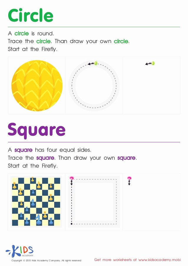 Square Shape Worksheets for Preschoolers Inspirational Free Printable Geometric Shapes Worksheets for Preschool and