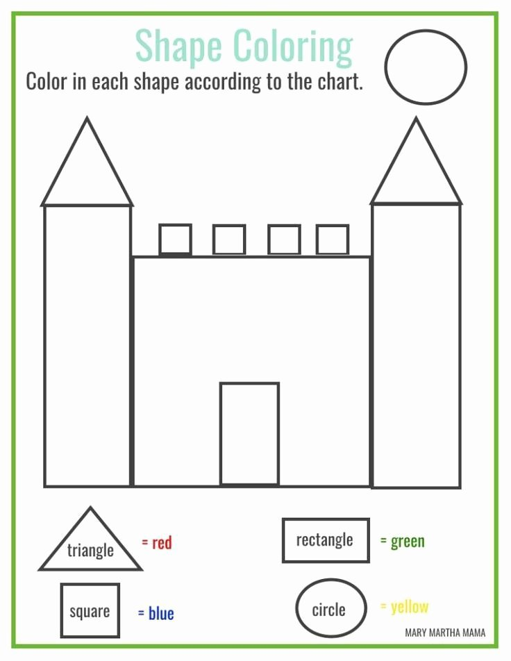 Square Shape Worksheets for Preschoolers New Free Pre K Worksheets Shapes