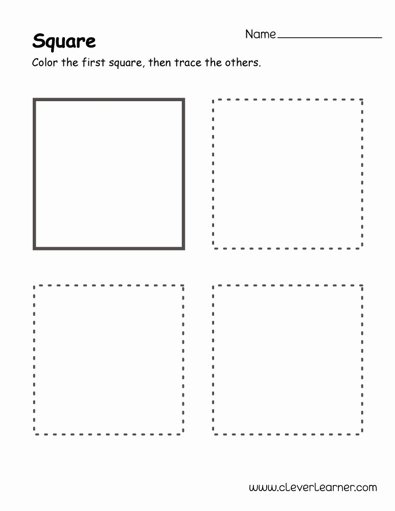 square shape activity 1