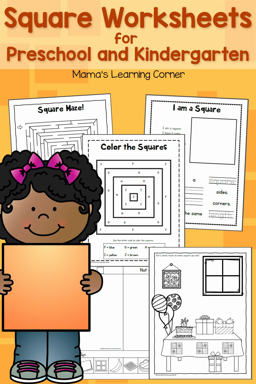 Square Worksheets for Preschoolers Lovely Square Worksheets for Preschool and Kindergarten Mamas