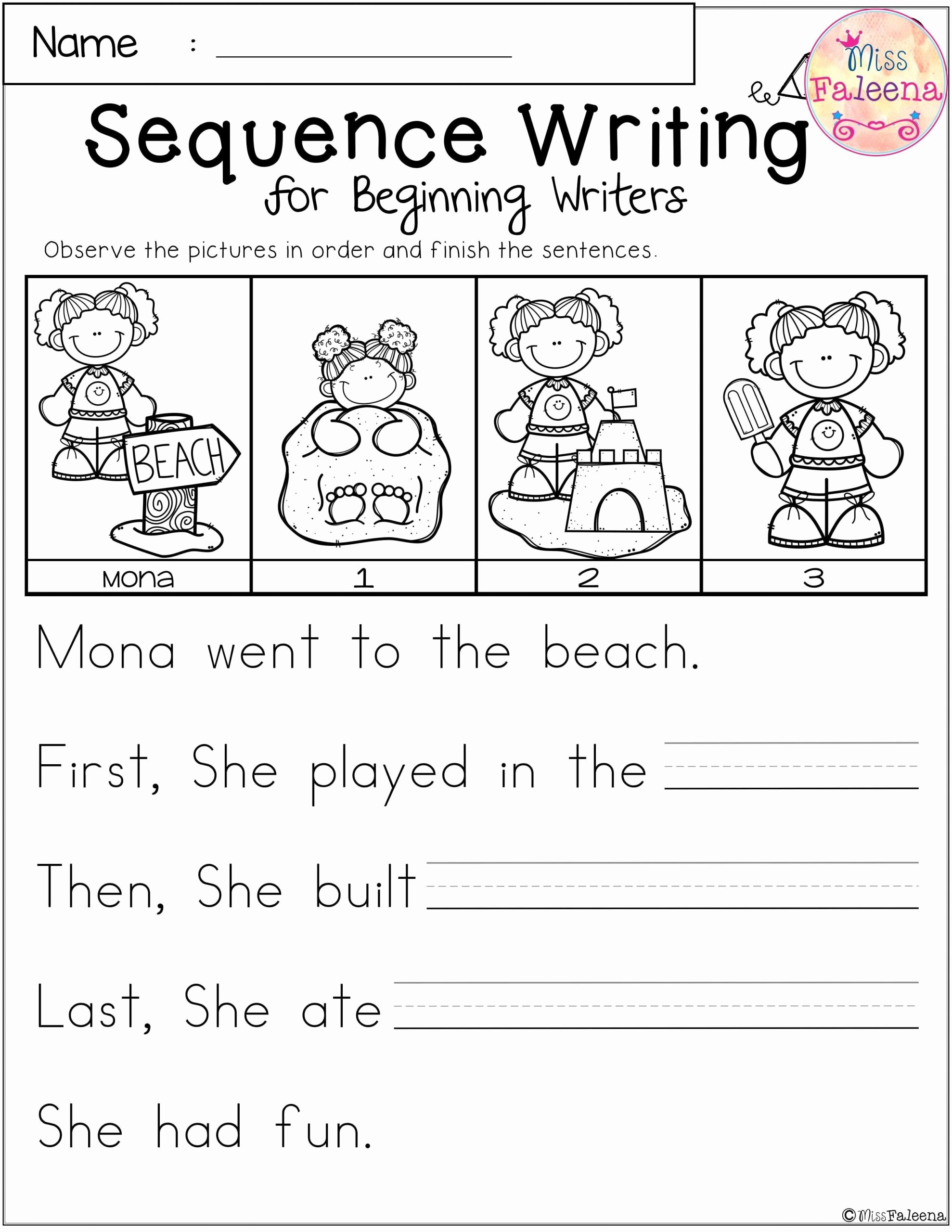 Story Sequencing Worksheets for Preschoolers Awesome 20 Sequencing Worksheets for Kindergarten