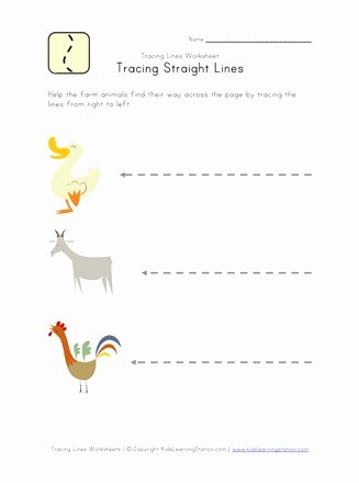 Straight Line Worksheets for Preschoolers Awesome Kids Draw Lines Worksheet