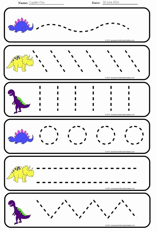Strokes Worksheets for Preschoolers Awesome Pre Handwriting Strokes Worksheets