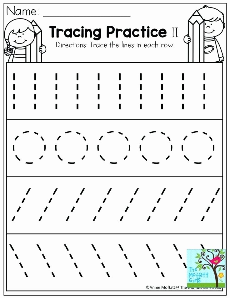 Strokes Worksheets for Preschoolers Unique Pre Writing Strokes Worksheets tons Of Printable for K