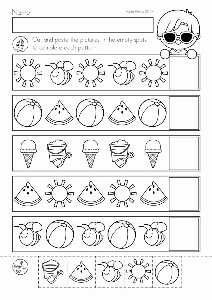Summer Activities Worksheets for Preschoolers Beautiful Coloring Pages Worksheet Free Printable toddler Worksheets