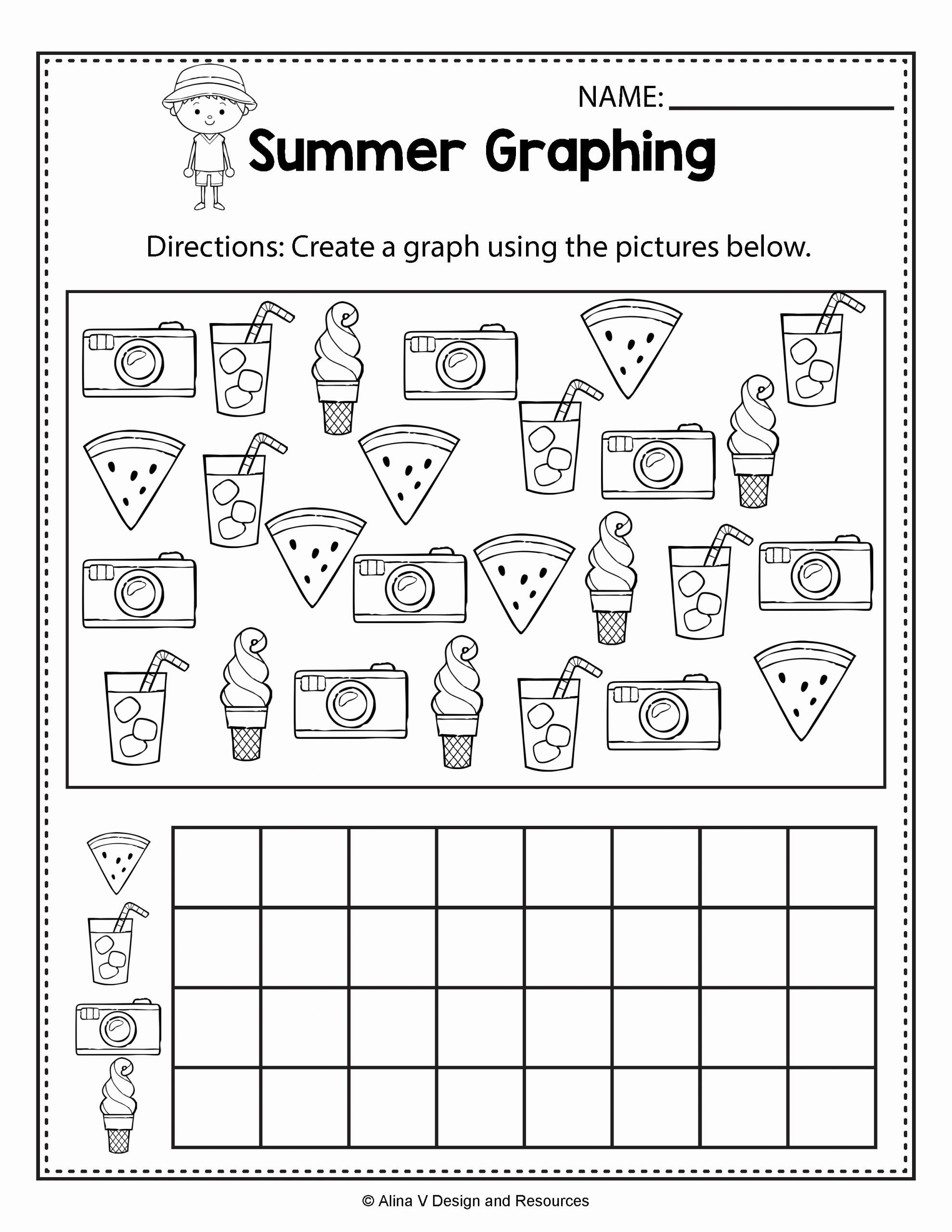 Summer Activities Worksheets for Preschoolers Beautiful Summer Worksheets for Kindergarten