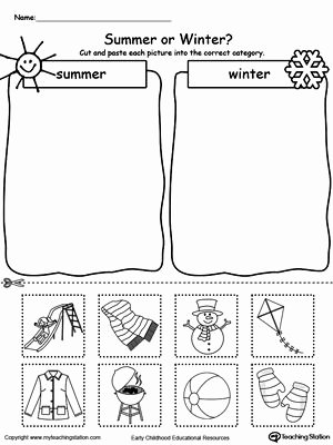 Summer Worksheets for Preschoolers Best Of Preschool Printable Worksheets