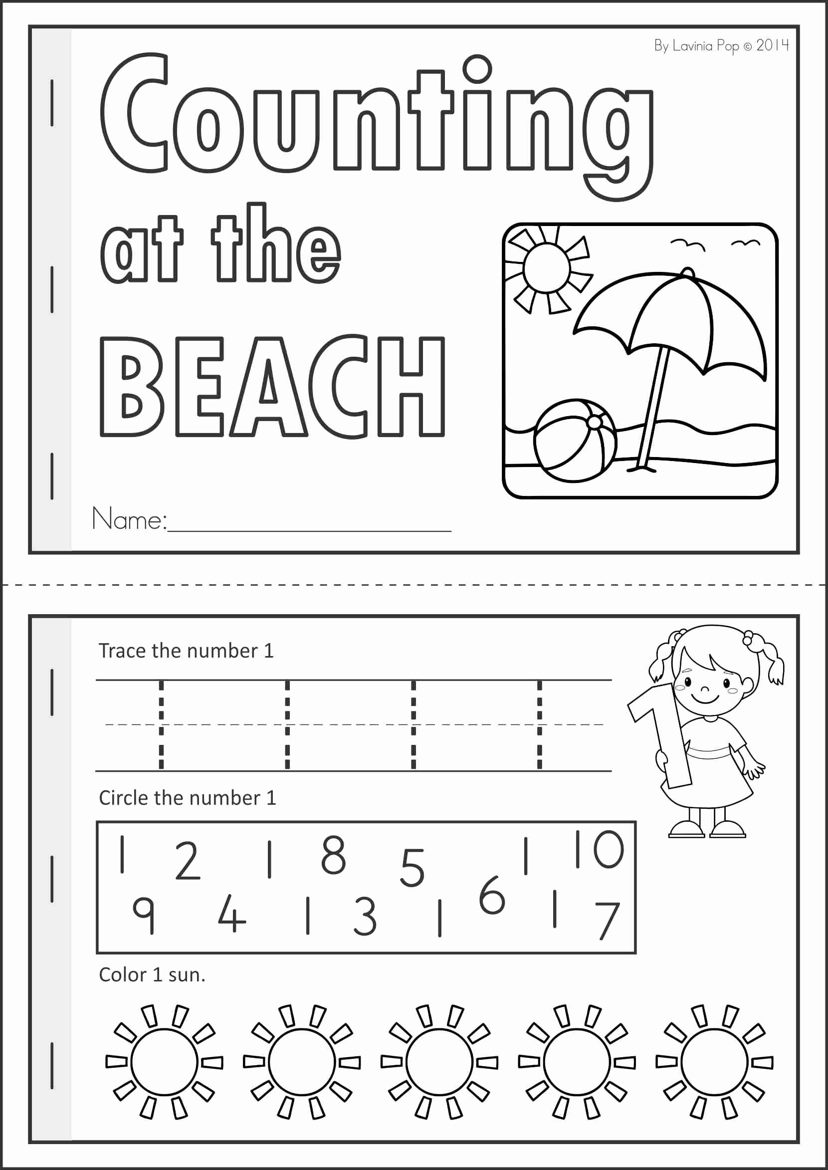 Summer Worksheets for Preschoolers Inspirational Kindergarten Summer Review Math & Literacy Worksheets