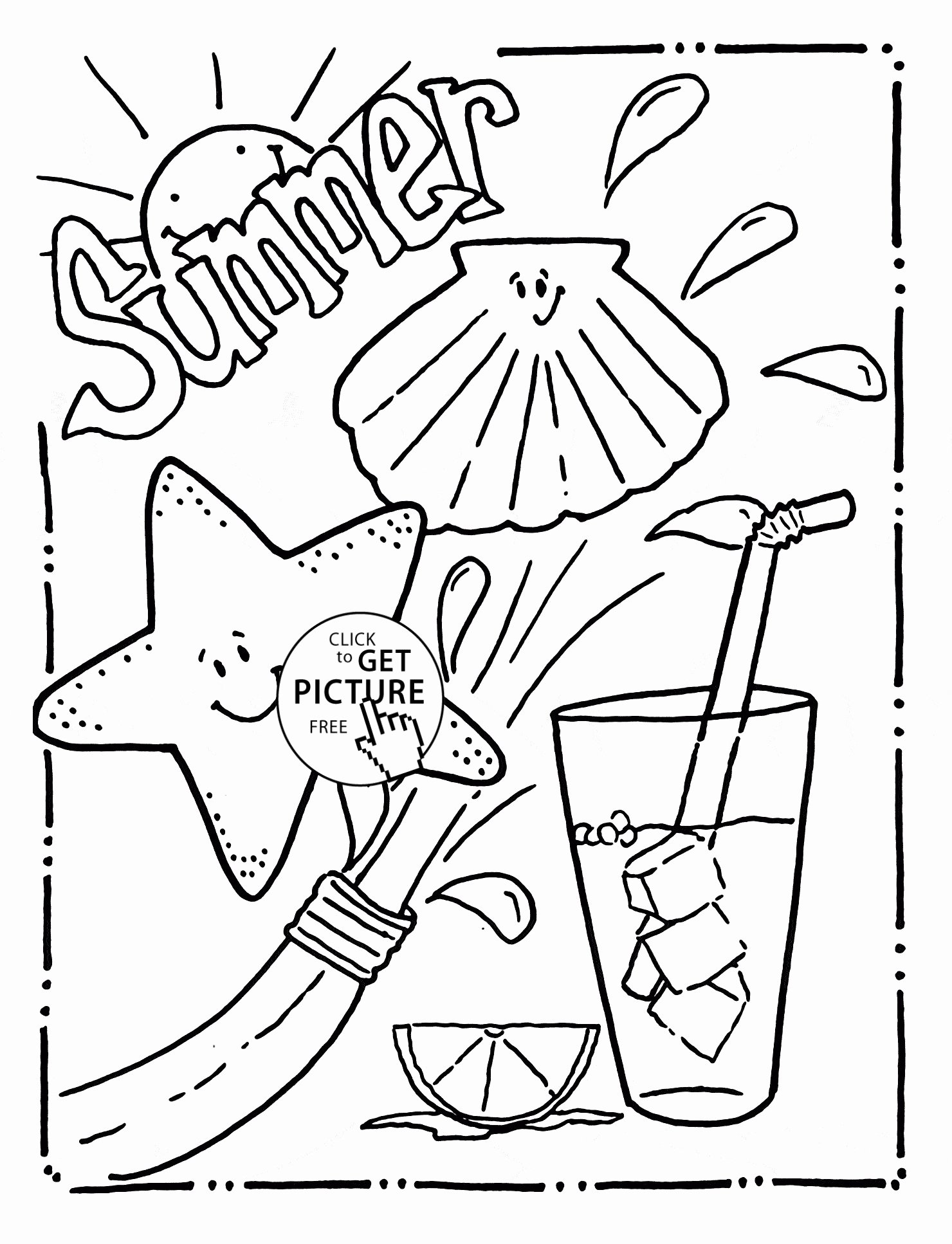 Summer Worksheets for Preschoolers Lovely Coloring Funng Worksheets for Kindergarten Summer Free