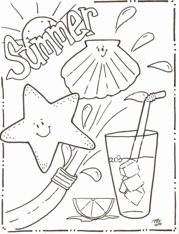 Summer Worksheets for Preschoolers top Coloring Most Out This World Free Printable Summer
