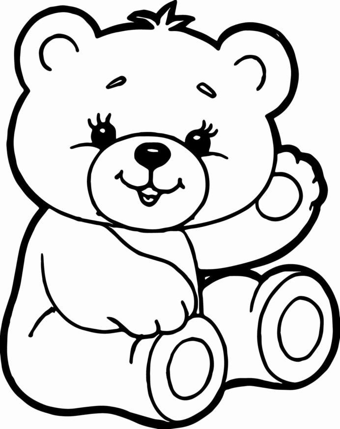 Teddy Bear Worksheets for Preschoolers Best Of Teddy Bear Coloring Luxury Color Sheet Cute Bears