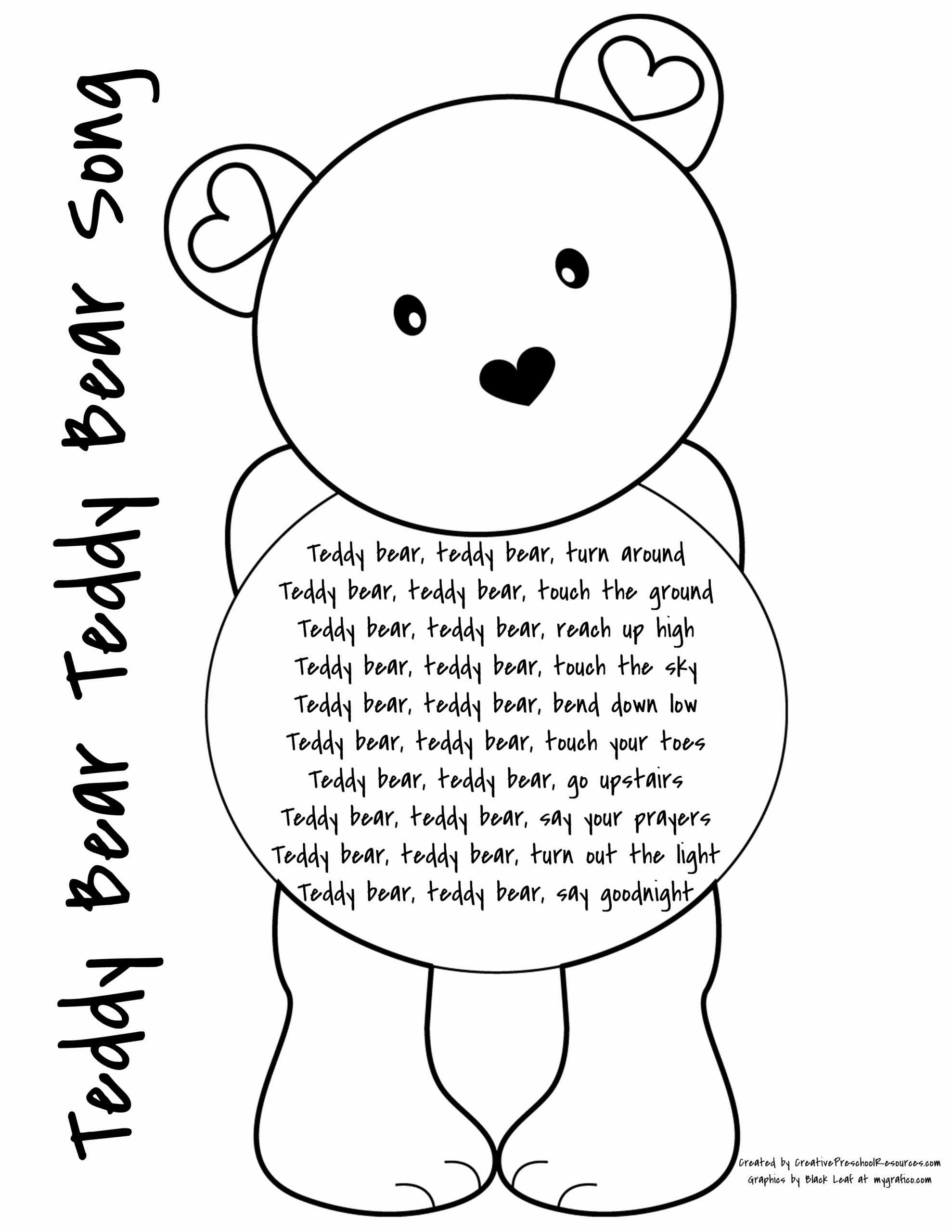 Teddy Bear Worksheets for Preschoolers top the Letter Lessons Tes Teach Esl Say and Tell Worksheets