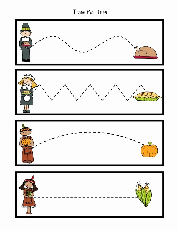 Thanksgiving Worksheets for Preschoolers Awesome 8 Best Of Preschool Printables Thanksgiving