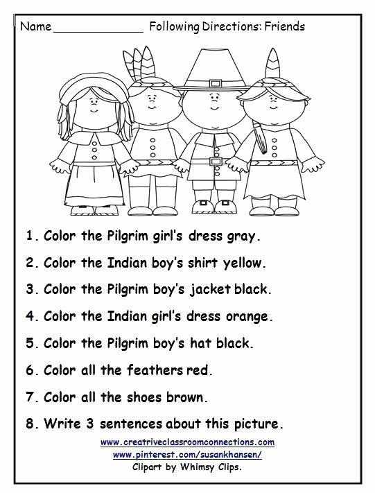 Thanksgiving Worksheets for Preschoolers Beautiful Free Collection Thanksgiving Math Worksheets Grade for