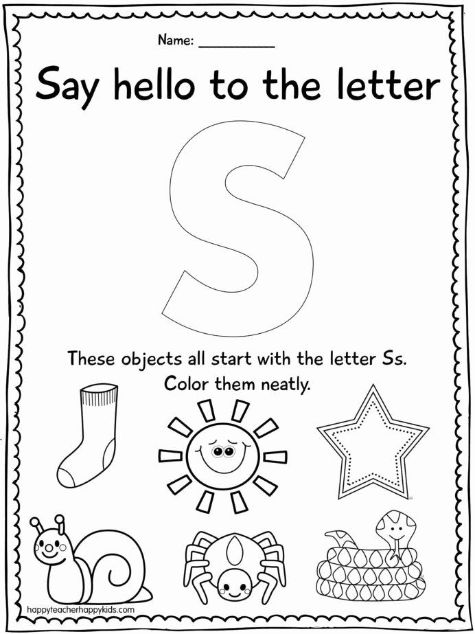 The Alphabet Worksheets for Preschoolers Lovely Letter Preschool Letters Alphabet Worksheets Cool Math