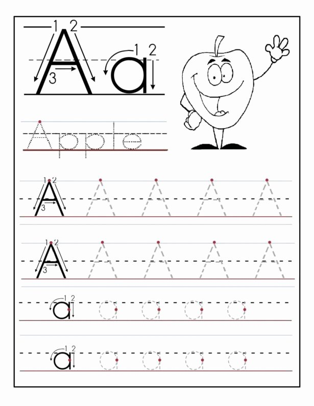 The Alphabet Worksheets For Preschoolers Inspirational Math Worksheet  Alphabet Worksheets Kindergarten Writing – Printable Worksheets For Kids