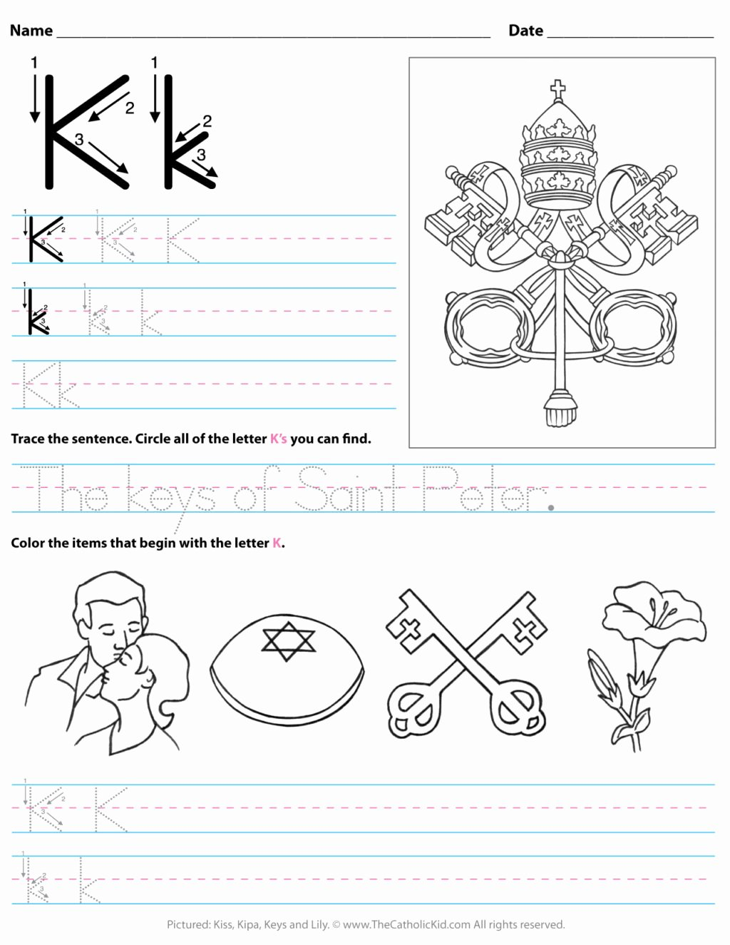 The Letter K Worksheets for Preschoolers Awesome Worksheet Freets for toddlers Printable K Preschool Letter