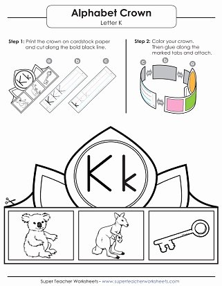 The Letter K Worksheets for Preschoolers Beautiful Letter K Worksheets Recognize Trace & Print