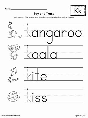 The Letter K Worksheets for Preschoolers Inspirational Coloring Pages Coloring Pages Letter K Beginning sound