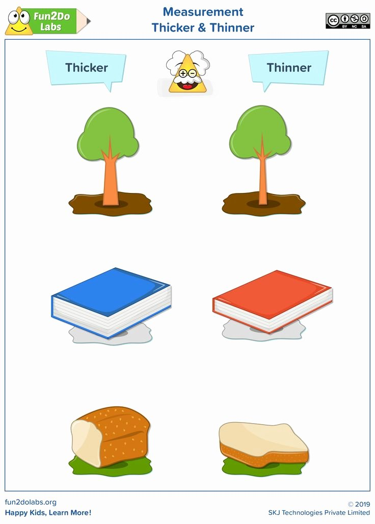 Thick and Thin Worksheets for Preschoolers Awesome This Printable Poster Will Help Parents and Teachers to