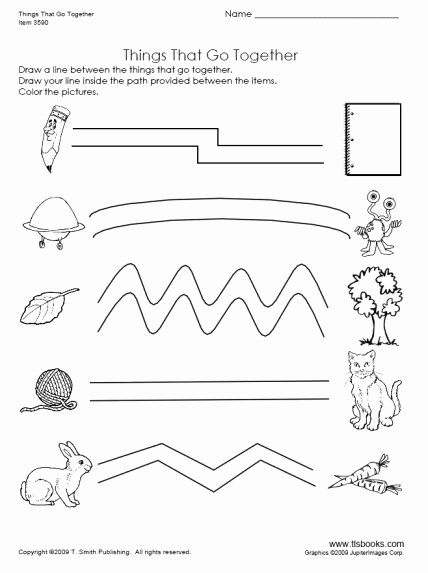 Things that Go together Worksheets for Preschoolers Fresh Things that Go to Her