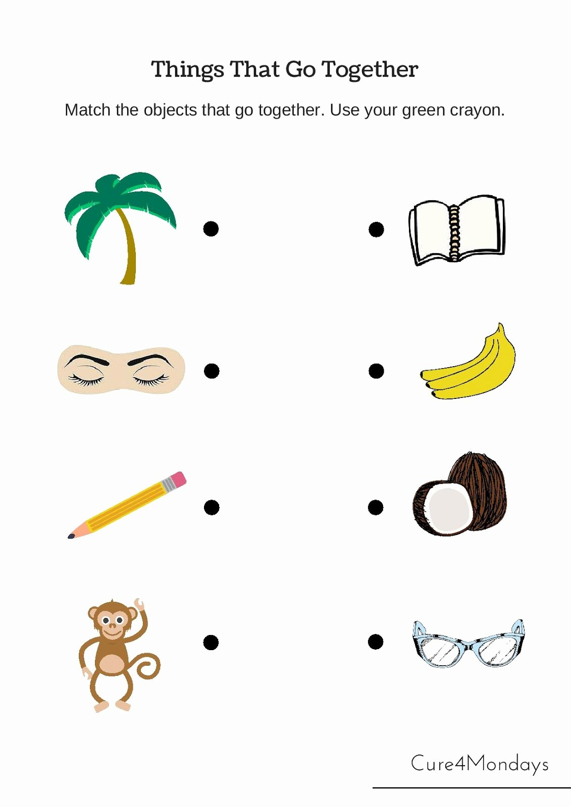 Things that Go together Worksheets for Preschoolers Unique Freeschool Free Printable Kindergarten Lessons Cure for