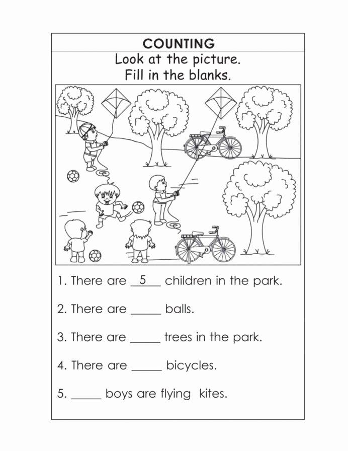 Tools Worksheets for Preschoolers Lovely Kindergarten English Worksheets Best Coloring for Kids