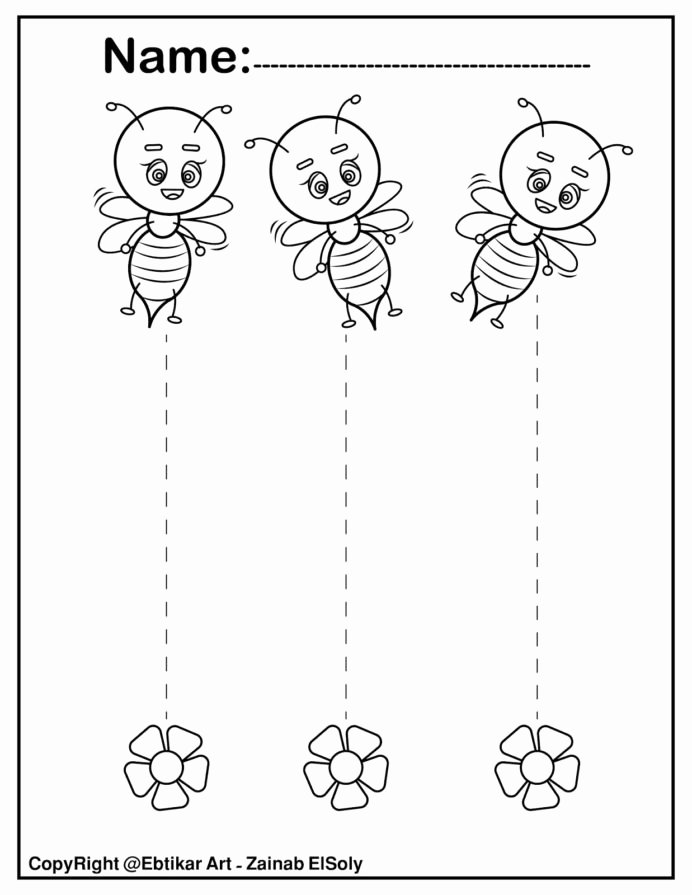 Trace the Lines Worksheets for Preschoolers Awesome Straight Line Tracing Preschool Cutting Lines Worksheets for