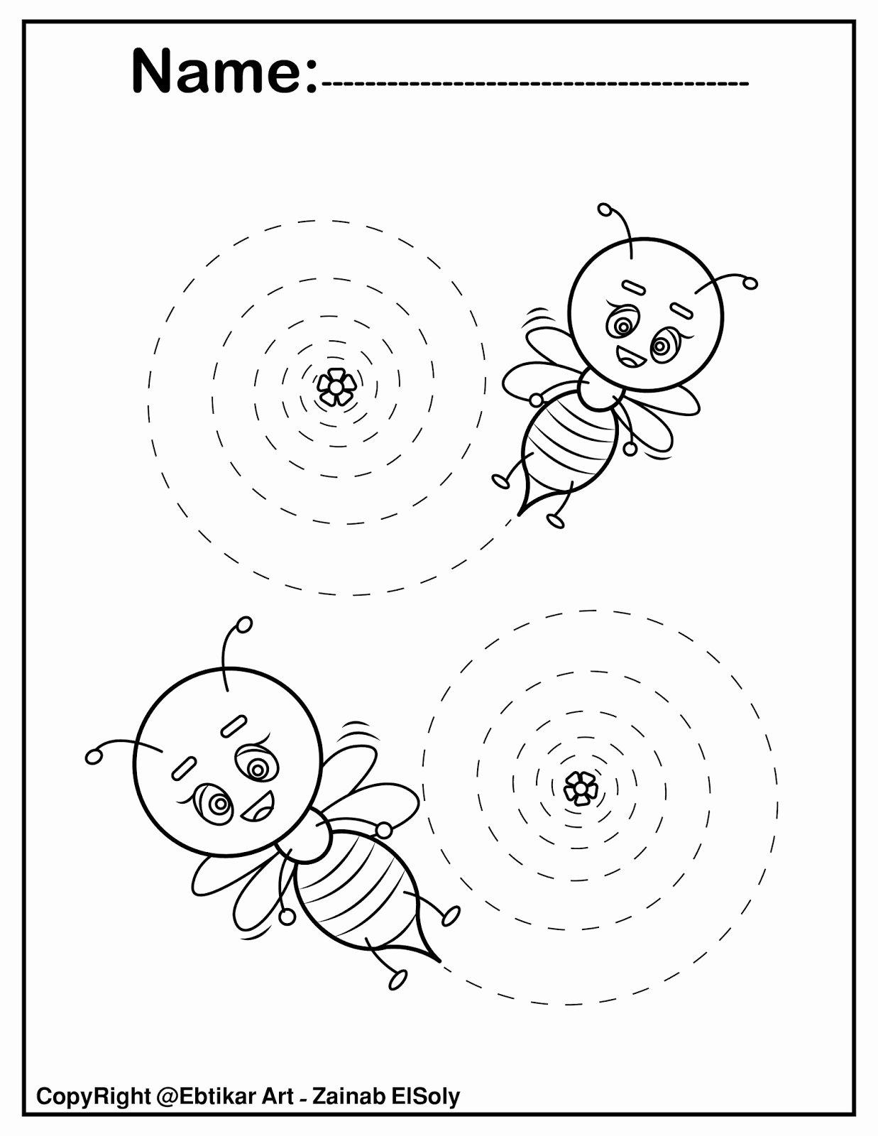 Trace the Lines Worksheets for Preschoolers Unique Worksheets Fine Motor Skills Tracing Lines Worksheets