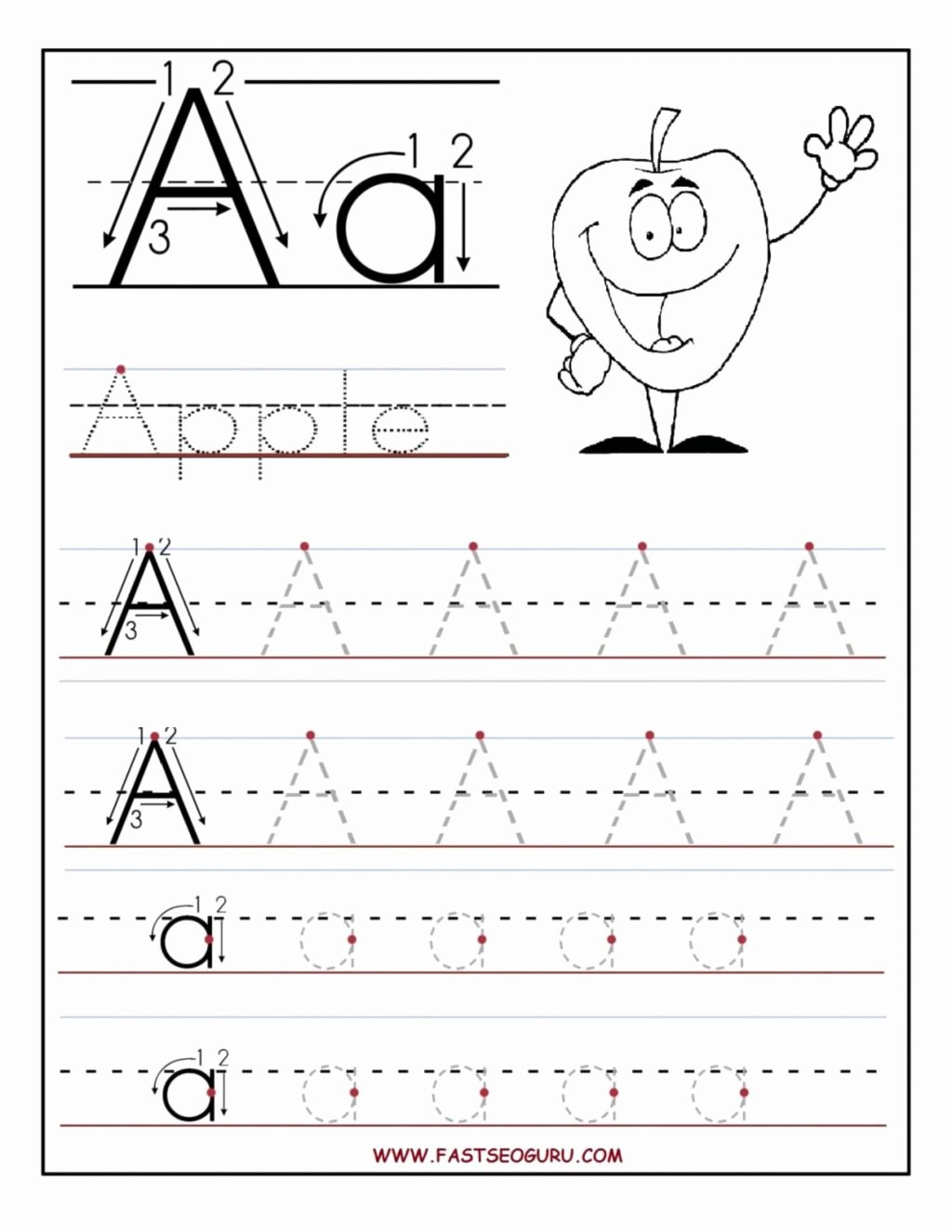 Trace Worksheets for Preschoolers Lovely Worksheet Worksheet Trace Letters Tracing Worksheets for