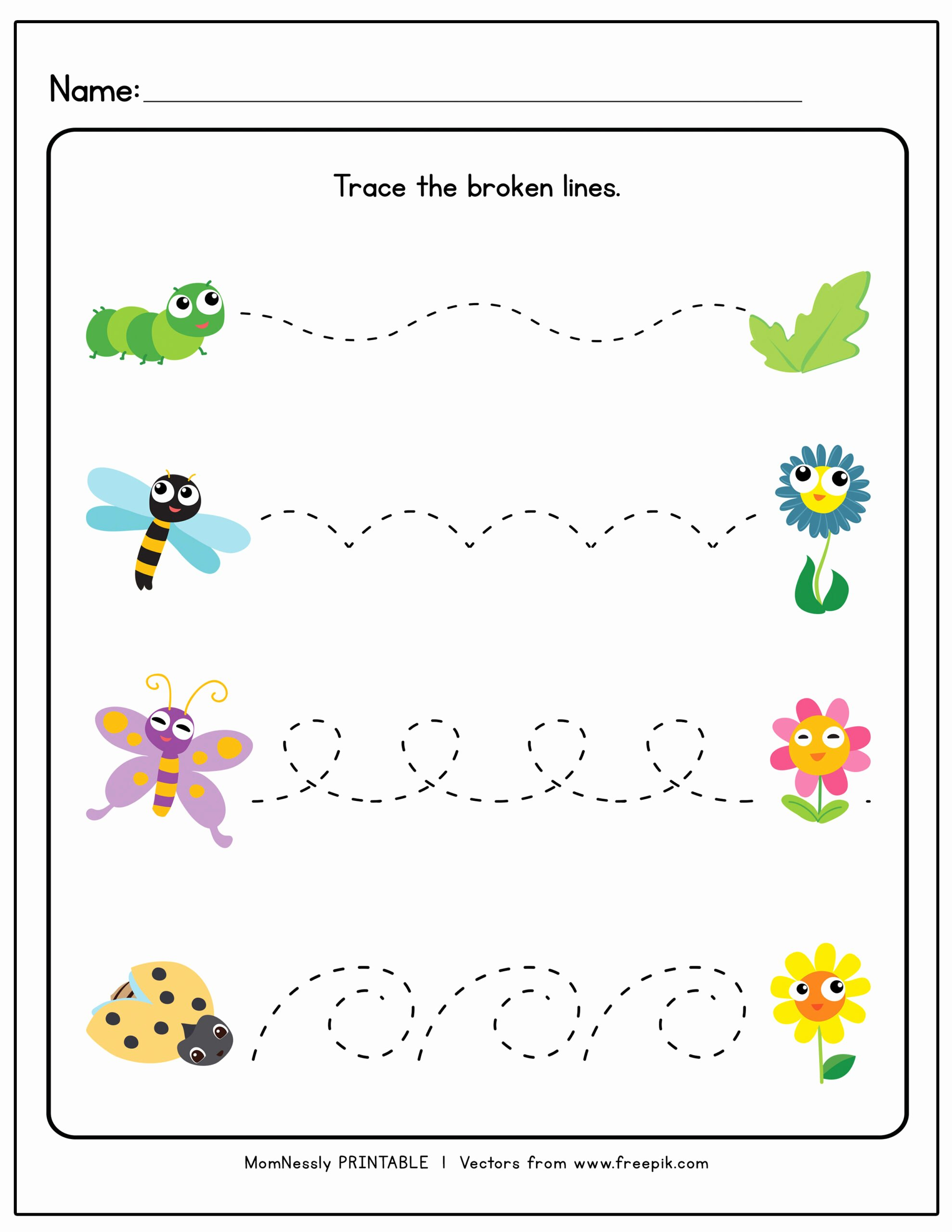 Tracing Lines Worksheets for Preschoolers Fresh Tracing Lines Worksheets Https Tribobot for toddlers Curved
