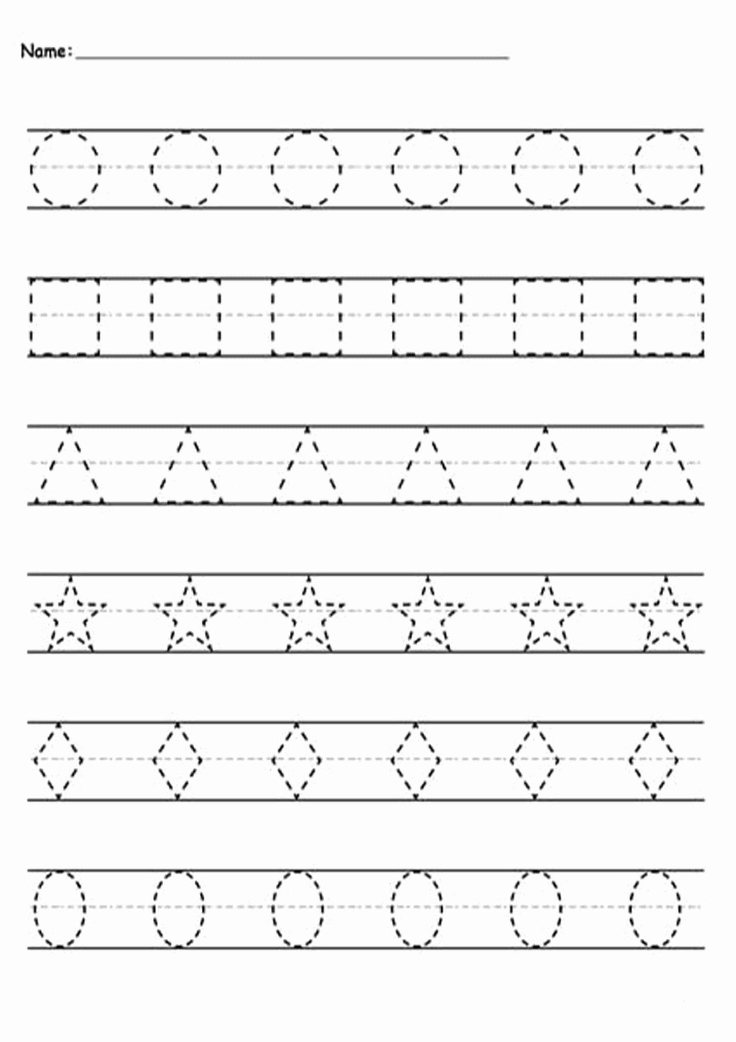 Tracing Lines Worksheets for Preschoolers New Free and Easy to Print Tracing Lines Worksheets Tulamama
