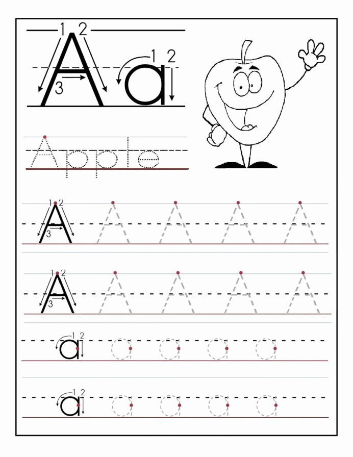 Tracing Worksheets for Preschoolers Unique Coloring Pages Trace Letter Sheets to Print Tracing