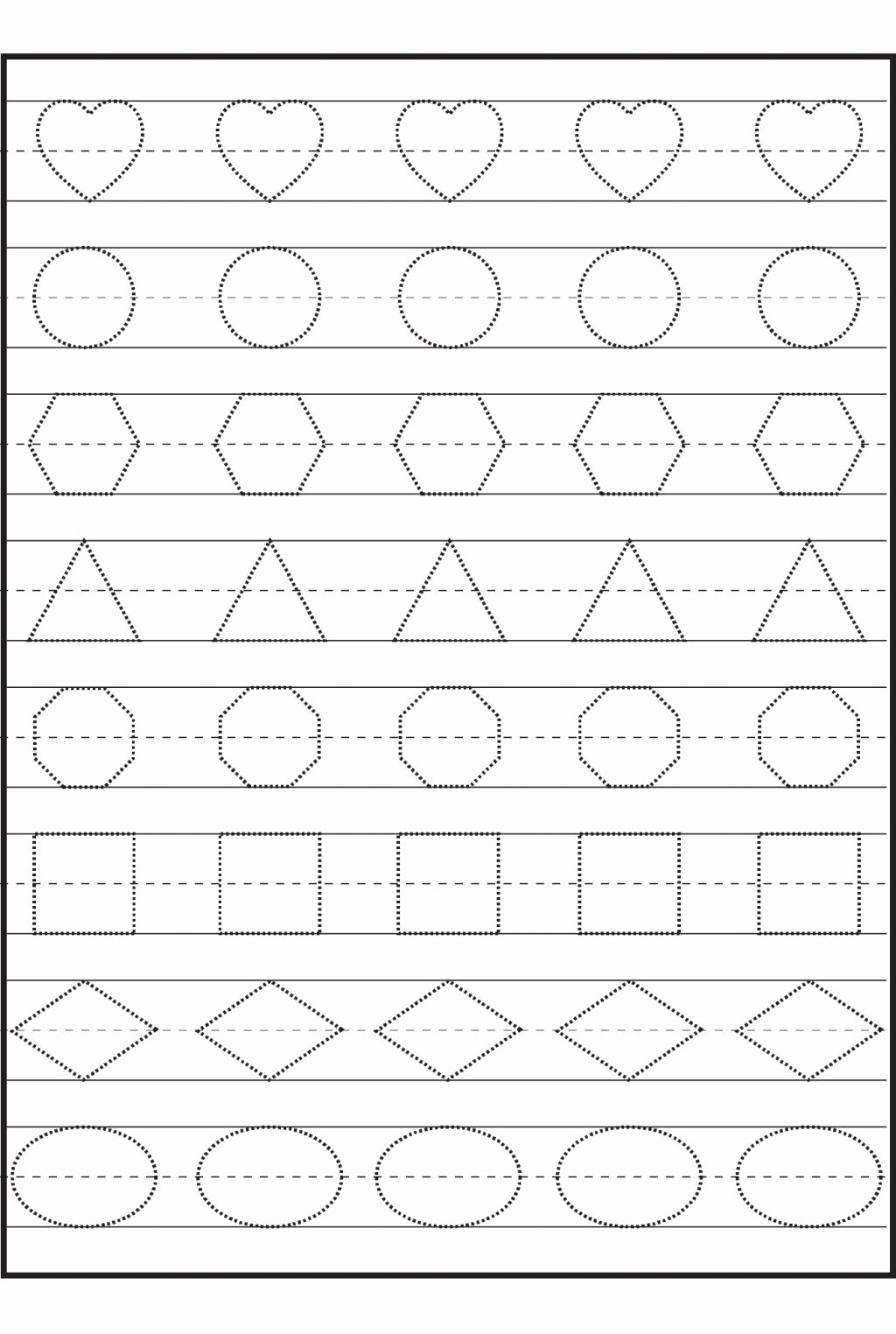Tracing Worksheets for Preschoolers Unique Worksheet Preschool Worksheets Color for Preschoolers Free