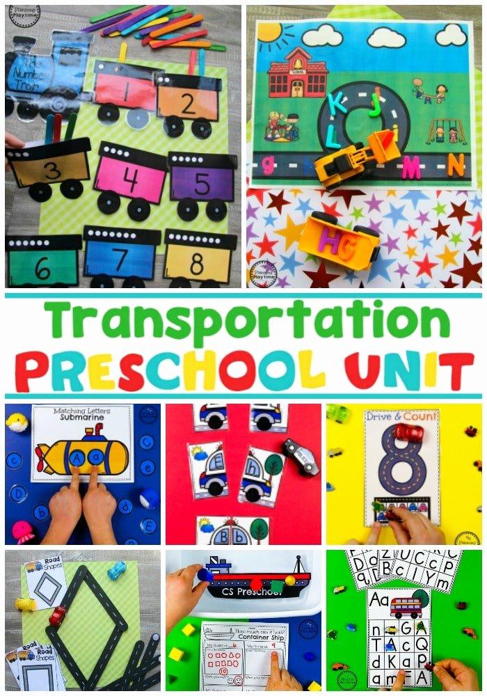 Transport Worksheets for Preschoolers Unique Transportation Worksheets Planning Playtime